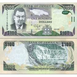 اسکناس 100 دلار - جامائیکا 2016 تاریخ 01.06.2016