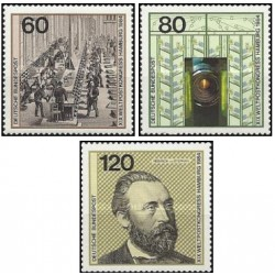 3 عدد تمبر اتحادیه جهانی پست- جمهوری فدرال آلمان 1984