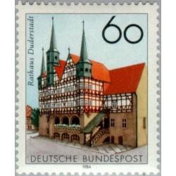 1 عدد تمبر 750مین سالگرد سالن اجتماعات شهرداری در دودراشتاد - جمهوری فدرال آلمان 1984