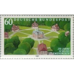 1 عدد تمبر 250مین سال قلعه کلمن ورس  - جمهوری فدرال آلمان 1987