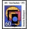 1 عدد تمبر صدمین سالگرد تولد اریک بوش هولز - هنرمند - جمهوری فدرال آلمان 1991