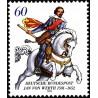 1 عدد تمبر 400مین سال درگذشت جان فون ورث - ژنرال - جمهوری فدرال آلمان 1991
