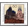 1 عدد تمبر 1250 سالگی ارفورت - جمهوری فدرال آلمان 1992