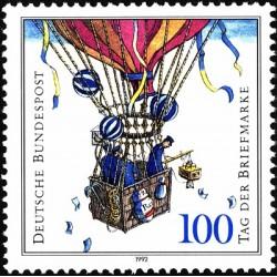 1 عدد تمبر روز تمبر - جمهوری فدرال آلمان 1992