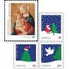 4 عدد تمبر کریستمس - خودچسب - کانادا 2016  قیمت 8.7 دلار- سایز کوچک