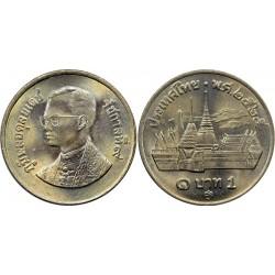 سکه 1 بات - نیکل مس - تایلند 1982 غیر بانکی