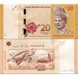 اسکناس 20 رینگیت - مالزی 2011