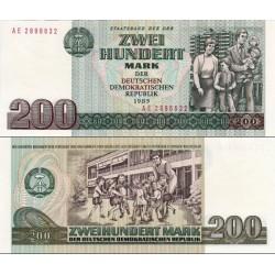اسکناس 200 مارک - جمهوری دموکراتیک آلمان 1985