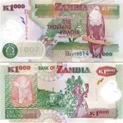 اسکناس پلیمر 1000 کواچا - زامبیا 2009