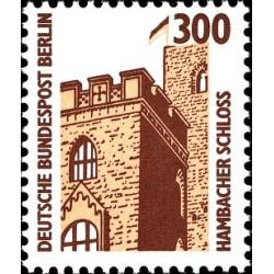1 عدد تمبر سری پستی چشم اندازها - 300 فنیک - برلین آلمان 1988 قیمت 6.7 دلار