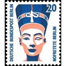 1 عدد تمبر سری پستی چشم اندازها - 20 فنیک - برلین آلمان 1989