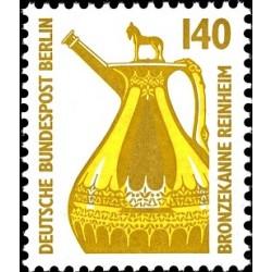 1 عدد تمبر سری پستی چشم اندازها - 140 فنیک - برلین آلمان 1989