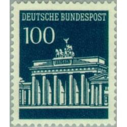 1 عدد تمبر سری پستی دروازه برندبورگ - 100 فنیک - جمهوری فدرال آلمان 1966 قیمت 11 دلار