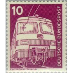 1 عدد تمبر سری پستی صنعت و فن  - 10 فنیک  - جمهوری فدرال آلمان 1975