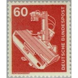 1 عدد تمبر سری پستی صنعت و فن  - 60 فنیک  - جمهوری فدرال آلمان 1978