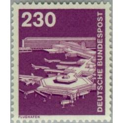 1 عدد تمبر سری پستی صنعت و فن  - 230 فنیک  - جمهوری فدرال آلمان 1978