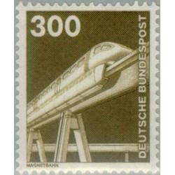 1 عدد تمبر سری پستی صنعت و فن  - 300 فنیک  - جمهوری فدرال آلمان 1982