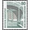 1 عدد تمبر سری پستی چشم اندازها - 80 فنیک - جمهوری فدرال آلمان 1987