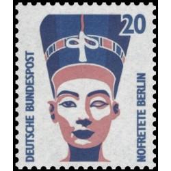 1 عدد تمبر سری پستی چشم اندازها - 20 فنیک - جمهوری فدرال آلمان 1989