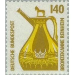 1 عدد تمبر سری پستی چشم اندازها - 140 فنیک - جمهوری فدرال آلمان 1989