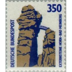 1 عدد تمبر سری پستی چشم اندازها - 350 فنیک - جمهوری فدرال آلمان 1989