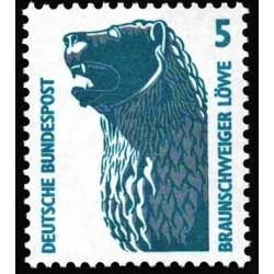 1 عدد تمبر سری پستی چشم اندازها - 5 فنیک - جمهوری فدرال آلمان 1990