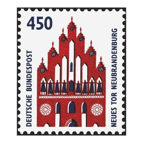 1 عدد تمبر سری پستی چشم اندازها - 450 فنیک - جمهوری فدرال آلمان 1992  قیمت 6.7 دلار