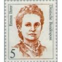 1 عدد تمبر سری پستی زنان نامدار - 5 فنیک - Emma Ihrer - سیاستمدار - جمهوری فدرال آلمان 1989