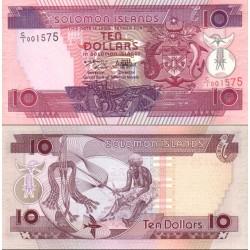 اسکناس 10 دلار - جزایر سلیمان 1996