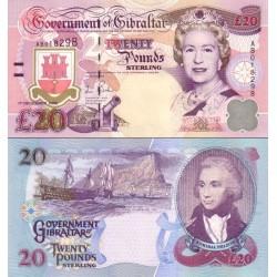 اسکناس 20 پوند - جبل الطارق 2006  سفارشی - توضیحات را ببینید