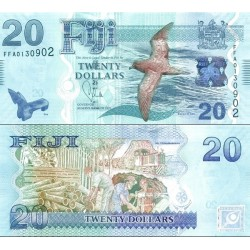 اسکناس 20 دلار - فیجی 2012 سفارشی - تماس بگیرید