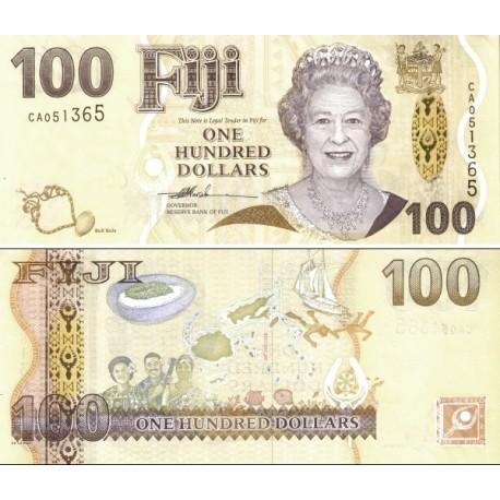 اسکناس 100 دلار - فیجی 2007 سفارشی - توضیحات را ببینید