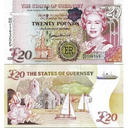 اسکناس 20 پوند - یادبود شصتمین سالگرد سلطنت ملکه - گورنزی 2012  سفارشی - توضیحات را ببینید