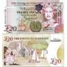 اسکناس 20 پوند - یادبود شصتمین سالگرد سلطنت ملکه - گورنزی 2012  سفارشی - تماس بگیرید