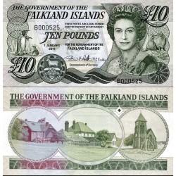 اسکناس 10 پوند - جزایر فالکلند 2011  سفارشی - توضیحات را ببینید