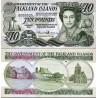 اسکناس 10 پوند - جزایر فالکلند 2011  سفارشی - تماس بگیرید