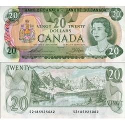 اسکناس 20 دلار - کانادا 1979 سفارشی - توضیحات را ببینید