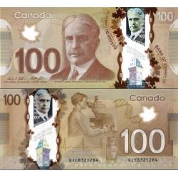 اسکناس پلیمر 100 دلار - کانادا 2011 سفارشی - توضیحات را ببینید