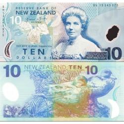اسکناس پلیمر 10 دلار - نیوزلند 2013 سفارشی - توضیحات را ببینید