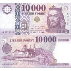 اسکناس 10000 فورینت - مجارستان 2015 سفارشی - توضیحات را ببینید