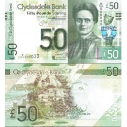 اسکناس 50 پوند استرلینگ - اسکاتلند 2015 سفارشی - توضیحات را ببینید