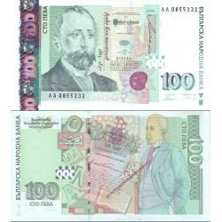 اسکناس 100 لوا - بلغارستان 2003 سفارشی - توضیحات را ببینید
