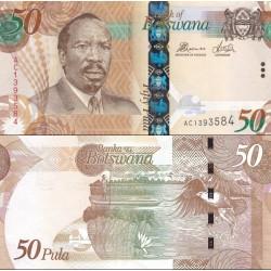 اسکناس 10 پولا - بوتسوانا 2014 سفارشی - توضیحات را ببینید
