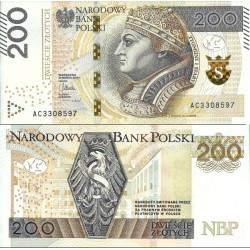 اسکناس 200 زلوتیچ - لهستان 2015 سفارشی - توضیحات را ببینید