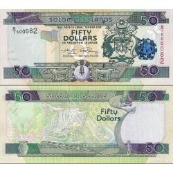 اسکناس 50 دلار - جزایر سلیمان 2009 سفارشی - توضیحات را ببینید