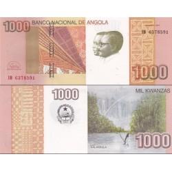 اسکناس 1000 کوانزا - آنگولا 2012 سفارشی - توضیحات را ببینید