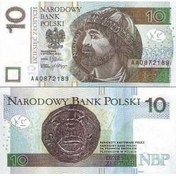 اسکناس 10 زلوتیچ - لهستان 2012 سفارشی - توضیحات را ببینید