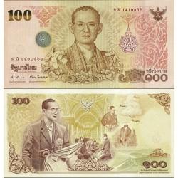 اسکناس 100 بات - یادبود 84مین سالگرد تولد پادشاه - هفتمین پادشاه  - تایلند 2011 سفارشی - توضیحات را ببینید