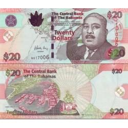 اسکناس 20 دلار - باهاماس 2010 سفارشی - توضیحات را ببینید