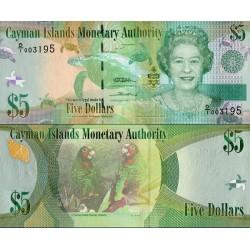 اسکناس 5 دلار - جزایر کایمن 2010
